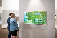 [BILD] Samsung The Frame mit Monet in Albertina, Wien - (c) Samsung