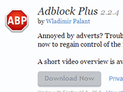 [BILD] Hinter dem Werbeblocker-Add-on Adblock Plus ... - (c) Screenshot addons.mozilla.org