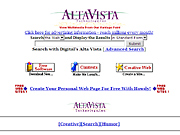 [BILD] Screenshot Altavista 1996 - (c) Screenshot waybackmachine